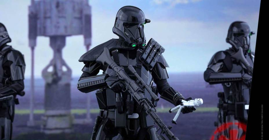 Rogue One Death Trooper Deluxe Hot Toys 007