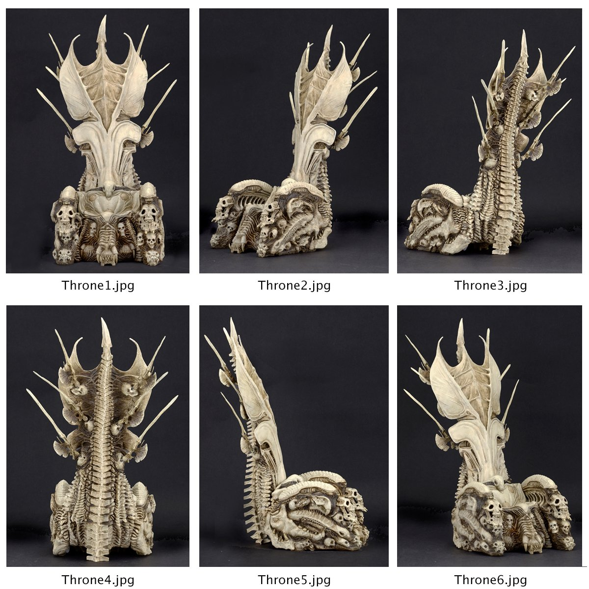 New Preview for The Alien vs Predator Bone Throne - The ...