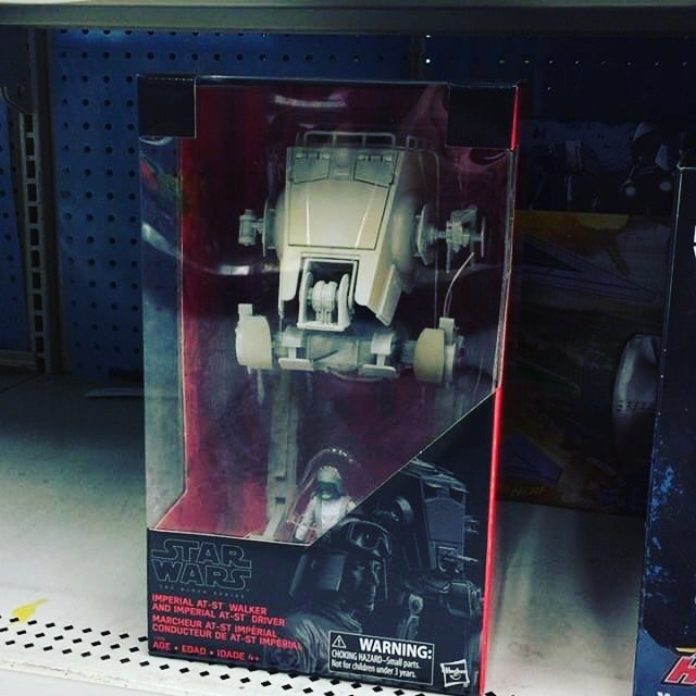 """Star Wars Black Series Imperial AT-St Driver 3.75/"""" Walmart Exclusive Figure New"""