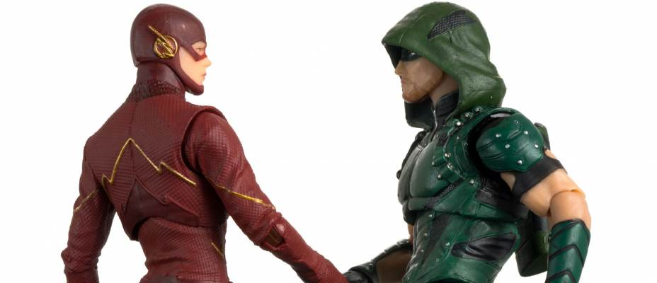 DC Collectibles Flash Arrow TV 2 Pack Photo Review