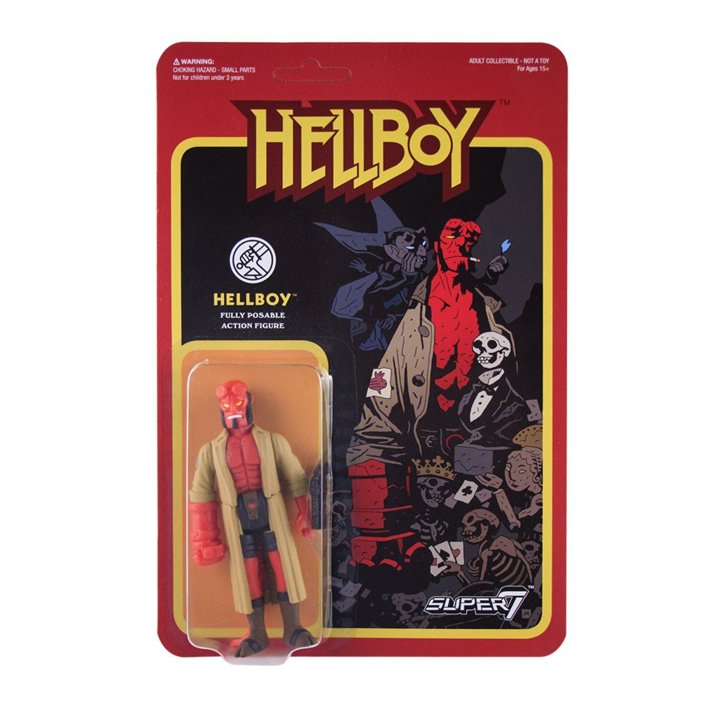 Hellboy ReAction Figures Available For Purchase Now - The Toyark - News