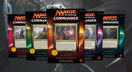 Magic: The Gathering Commander 2016 Photo Shoot - The Toyark - News