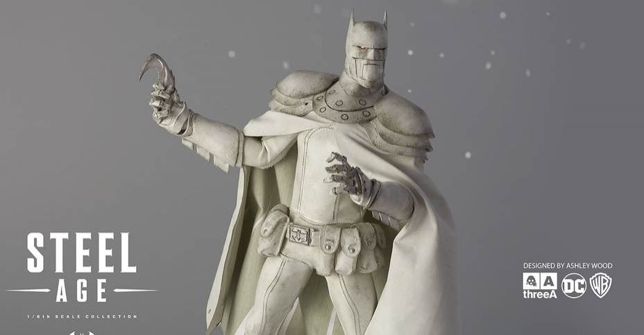 3A Steel Age Arctic Batman Figure & 3A Steel Age Arctic Batman Figure - The Toyark - News