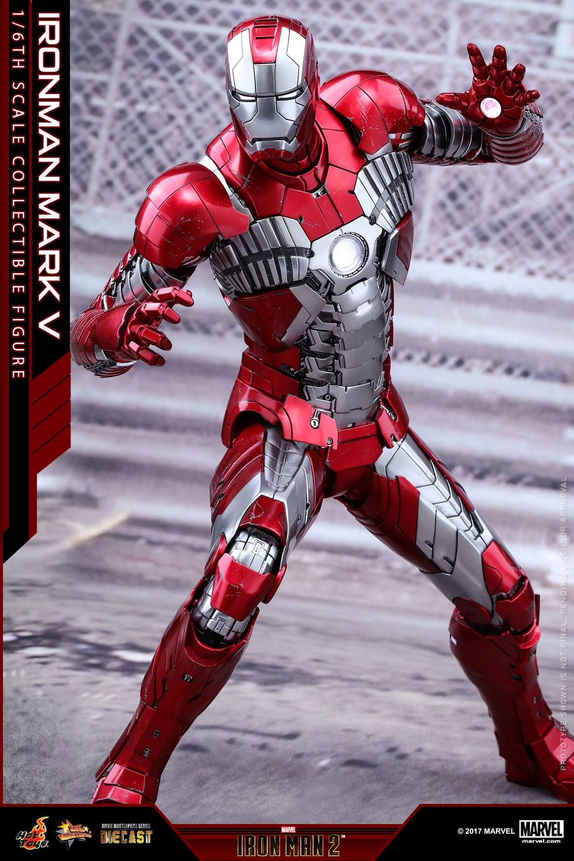 Hot Toys Diecast Iron Man Mark V Figure The Toyark News