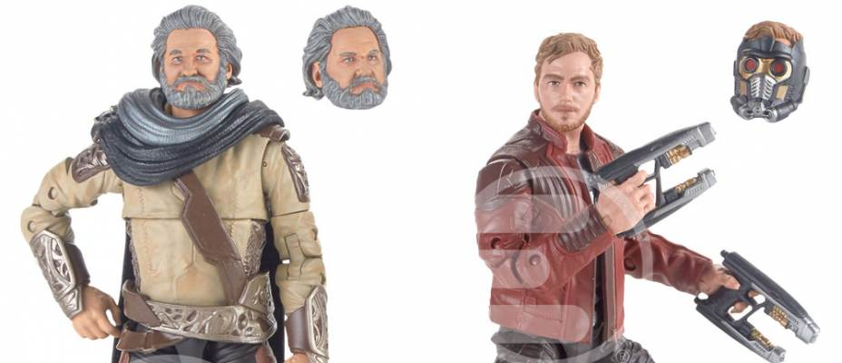 Reveal: Star-Lord and Ego Guardians of the Galaxy Vol. 2 Marvel Legends 2-Pack