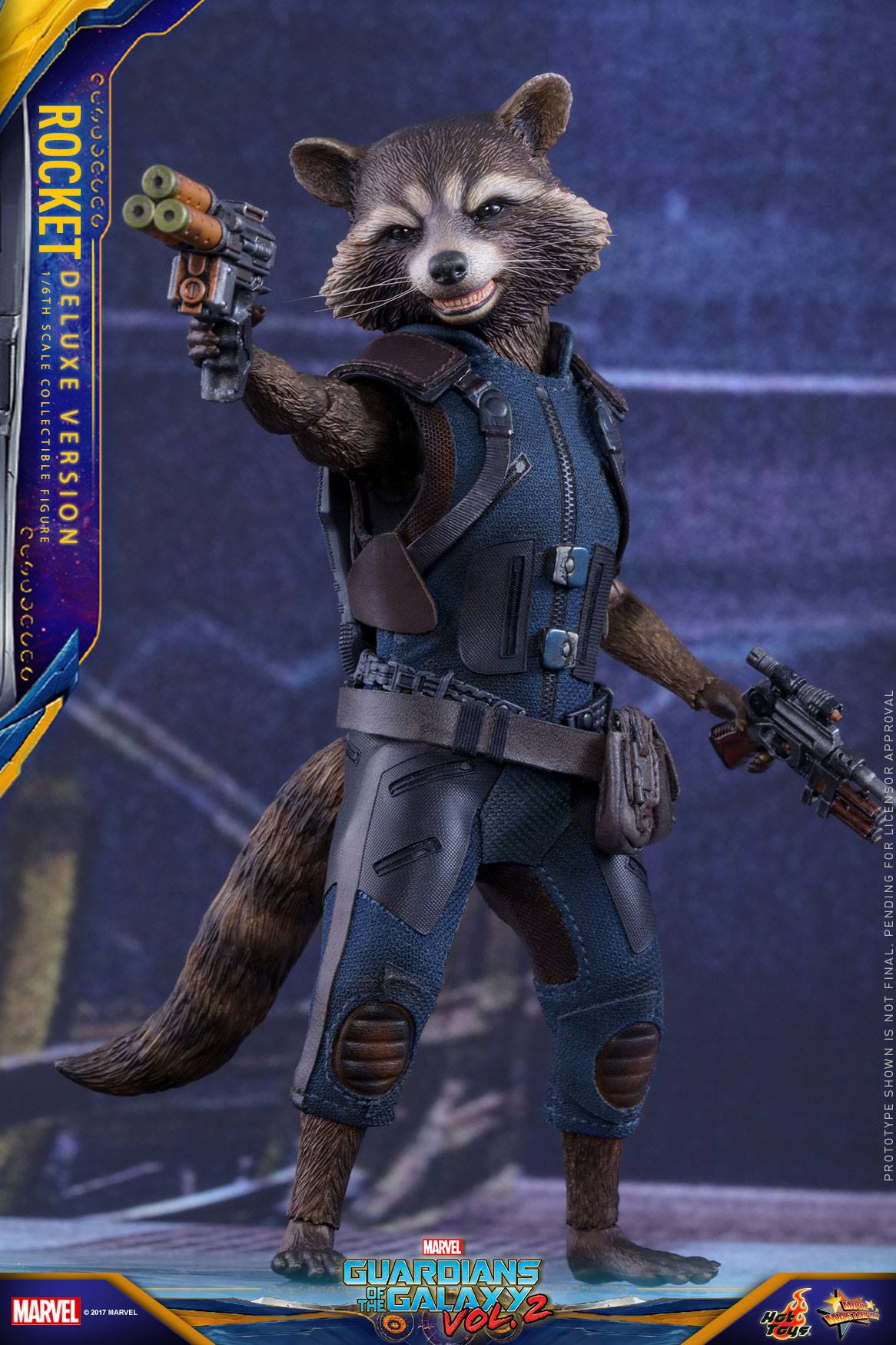 Hot Toys Guardians of the Galaxy Vol. 2 Rocket Raccoon ...