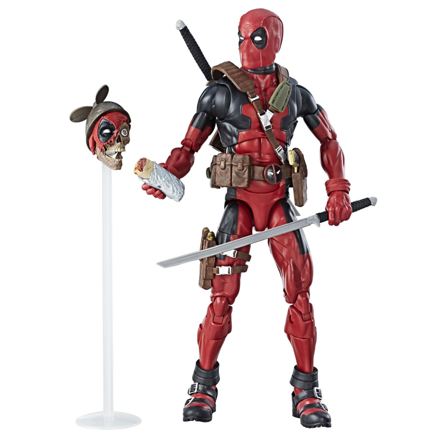 New marvel legends 12 inch hulk and thor images the for Deadpool show