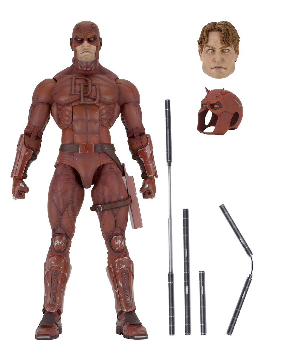 Neca 1 4 Scale Daredevil Toy Discussion At Circuit Breaker By Bad Moon Toyarkcom