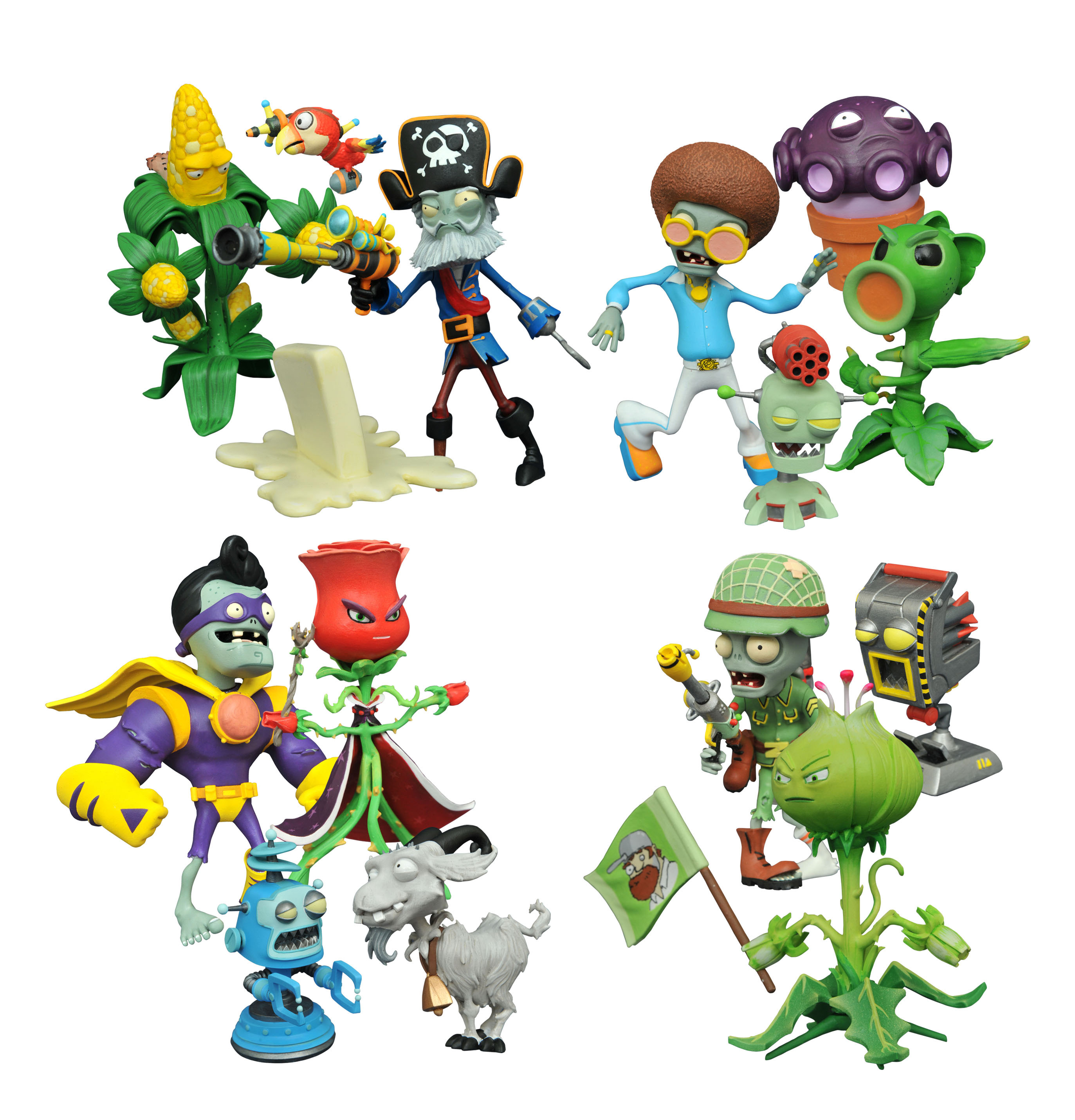 New Diamond Select Toy Releases Plants Vs Zombies Alien And More The Toyark News