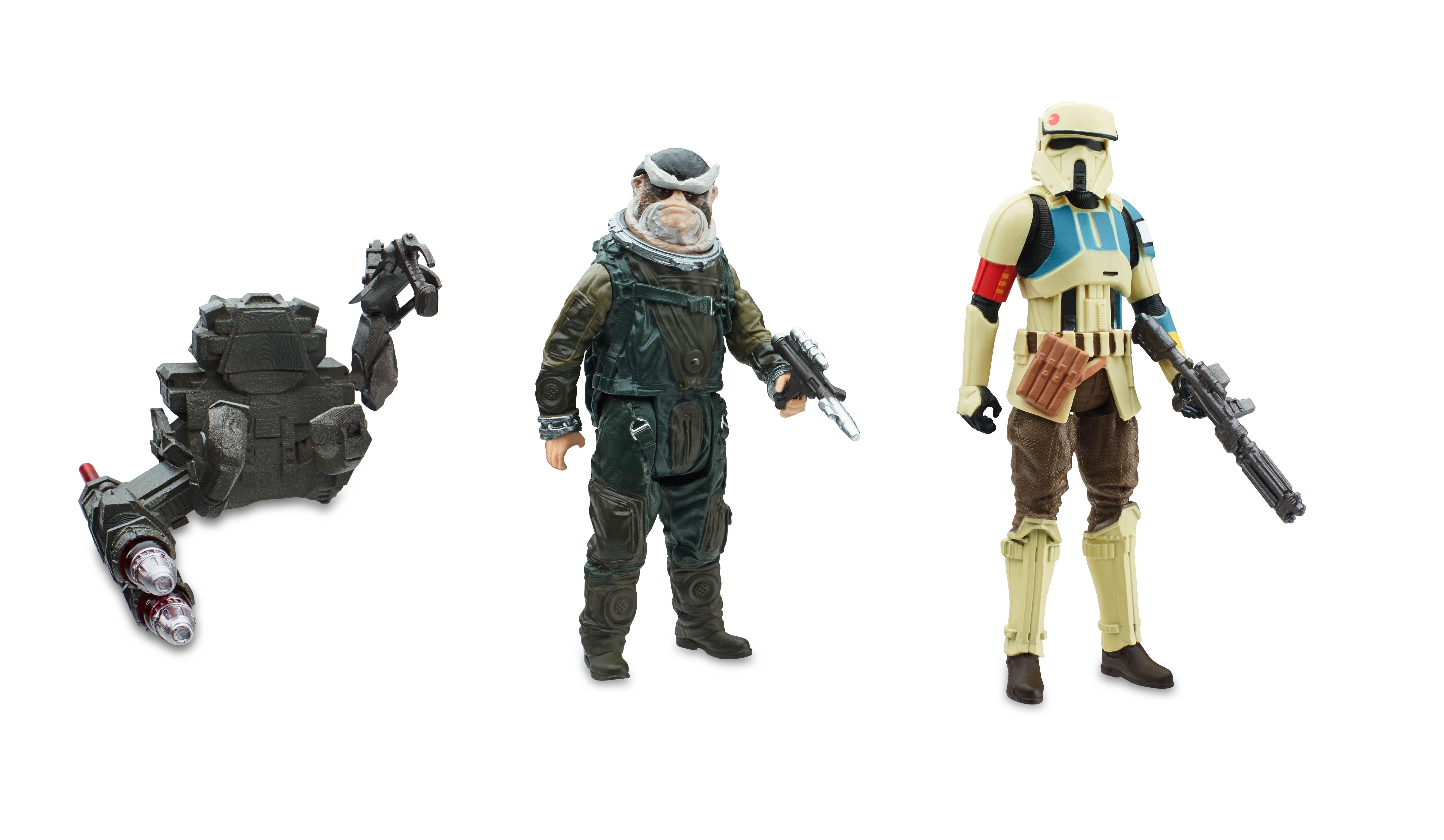 rogue one a star wars story new figures by hasbro the toyark news. Black Bedroom Furniture Sets. Home Design Ideas