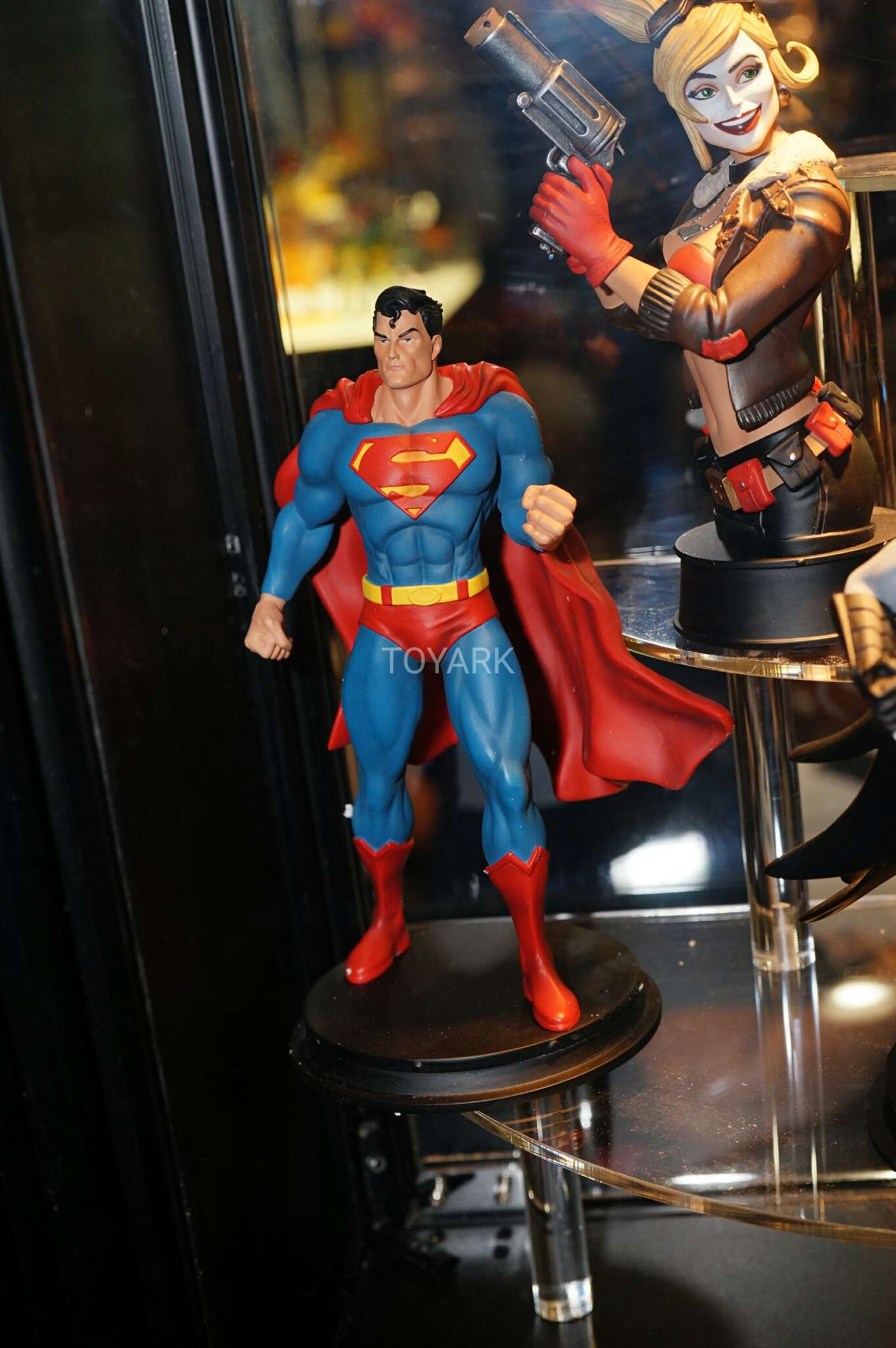 Not Toys For 2018 From Moive : Toy fair icon heroes dc universe display the