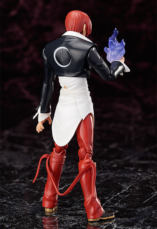 official details and images for figma king of fighters kyo