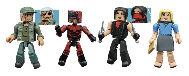 New From Dst Marvel And Dc Minimates And Dc Animated