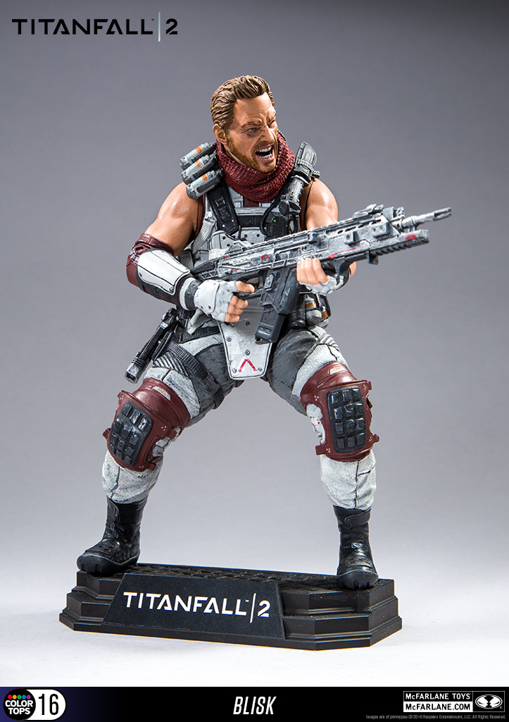 titanfall 2 jester figure � new photos from mcfarlane toys