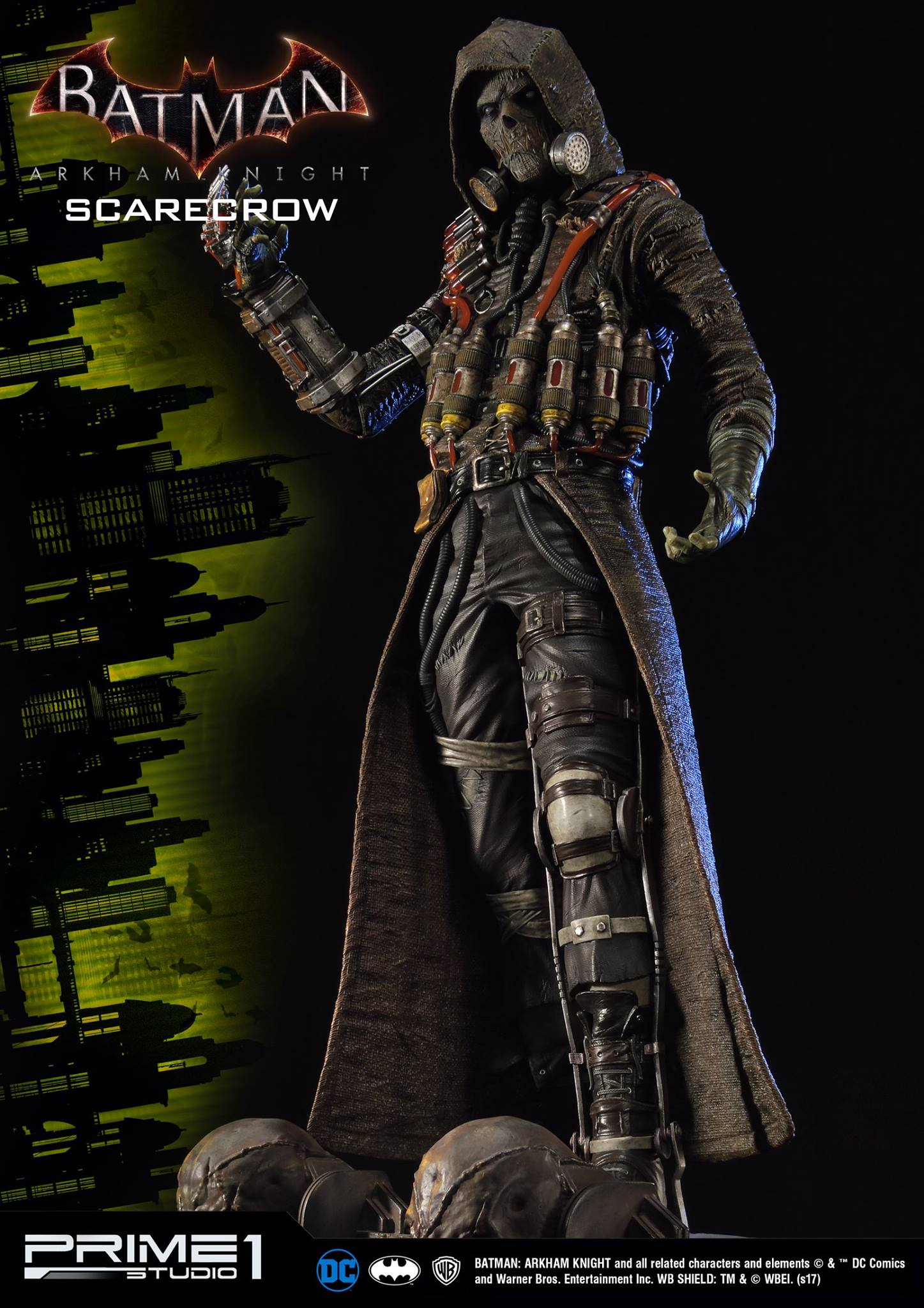 Arkham Knight Scarecrow Statue