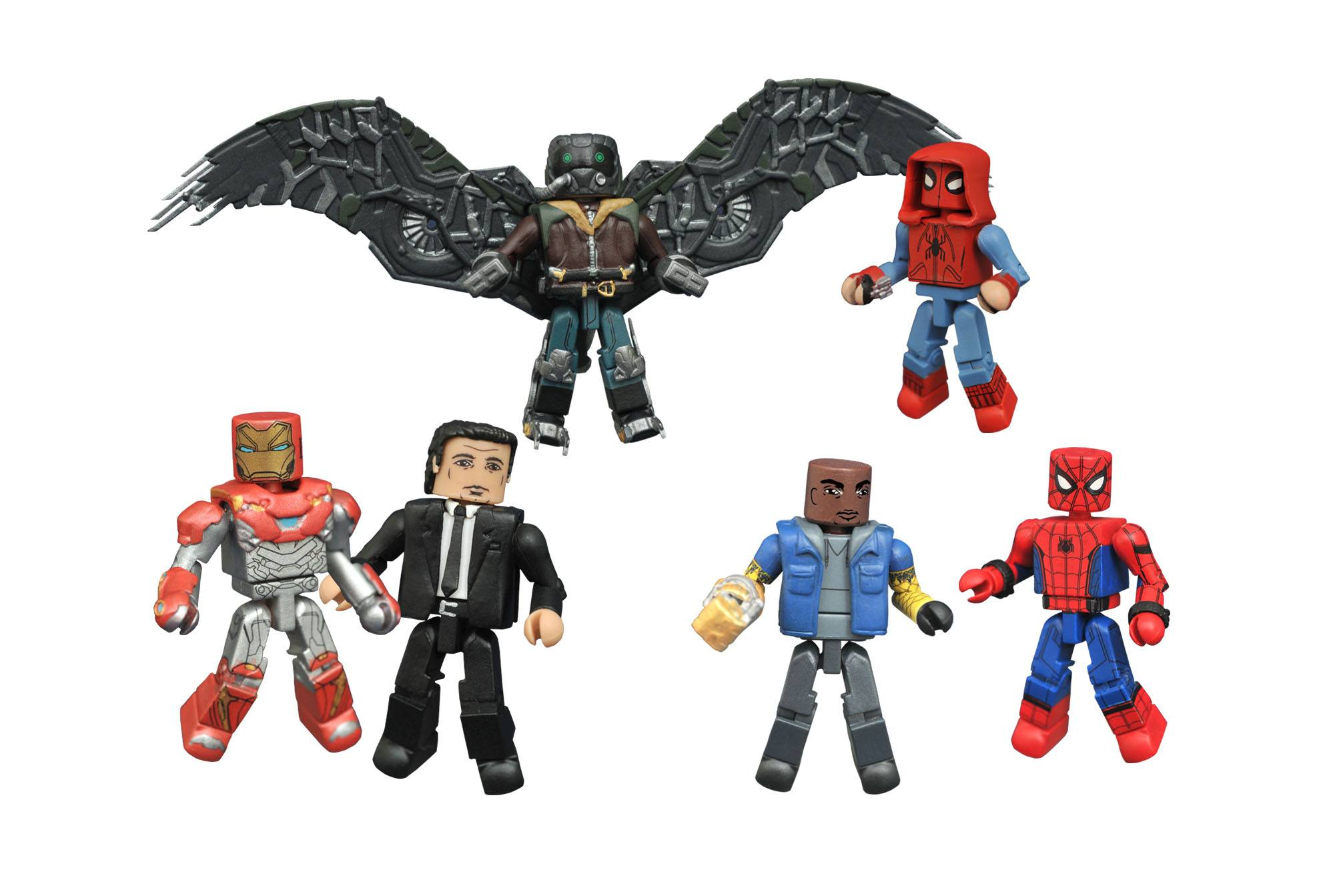 Spider Man Homecoming Minimates Toys R Us  sc 1 st  The Toyark & New Photos of the Spider-Man: Homecoming Minimates by DST - The ...