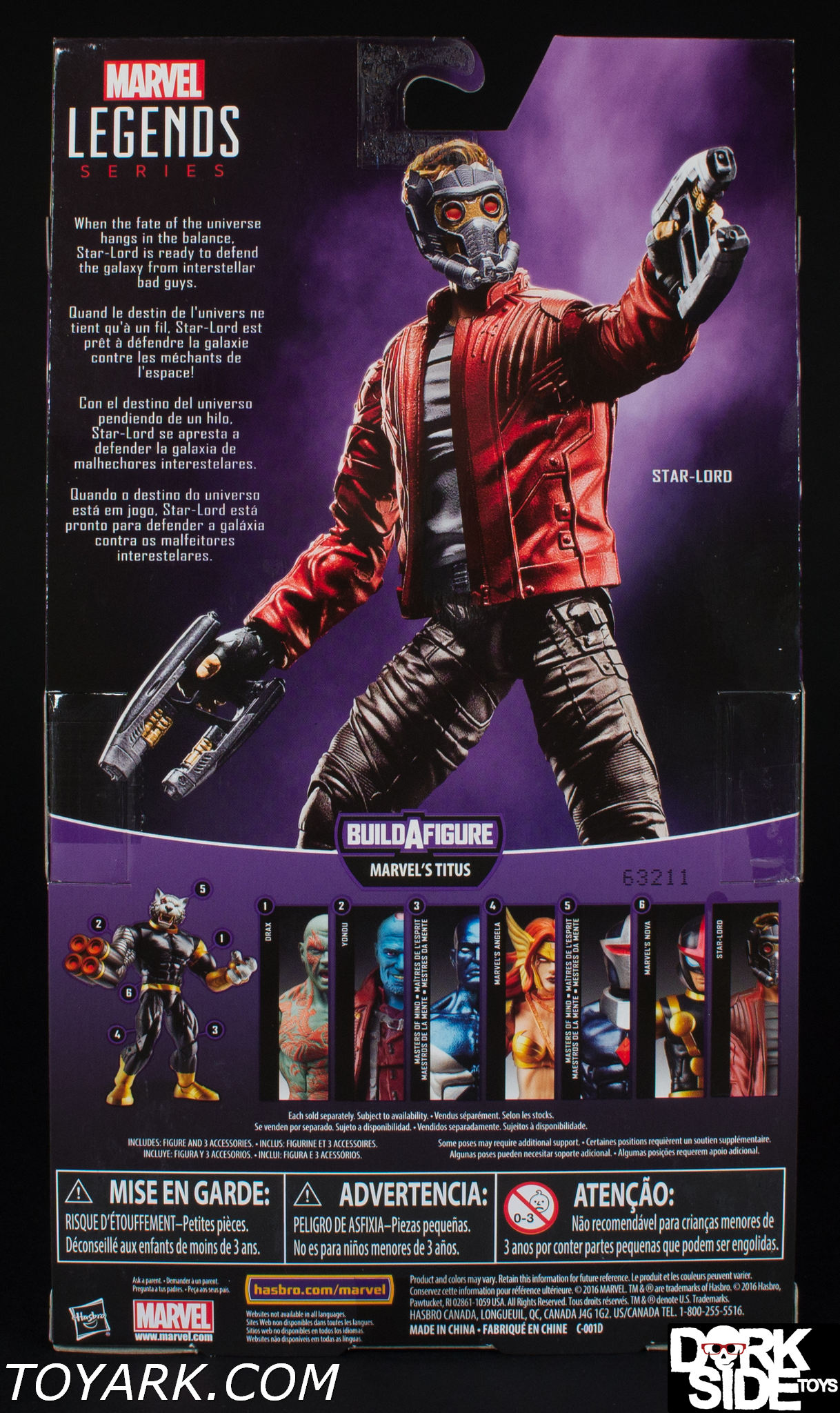 Marvel Legends Guardians Of The Galaxy Vol 2 Star Lord And Titus