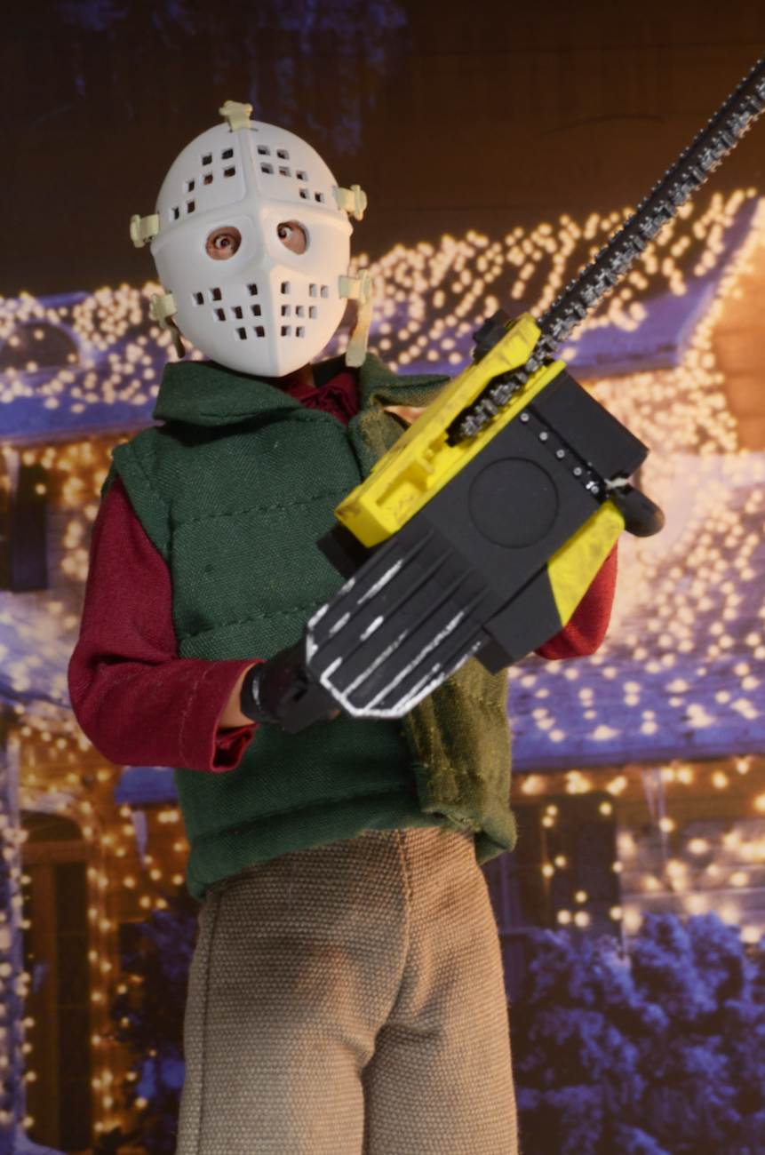 Update On Christmas Vacation Chainsaw Clark Griswold Mego Style Figure -  The Toyark - News 1752ab60fa6