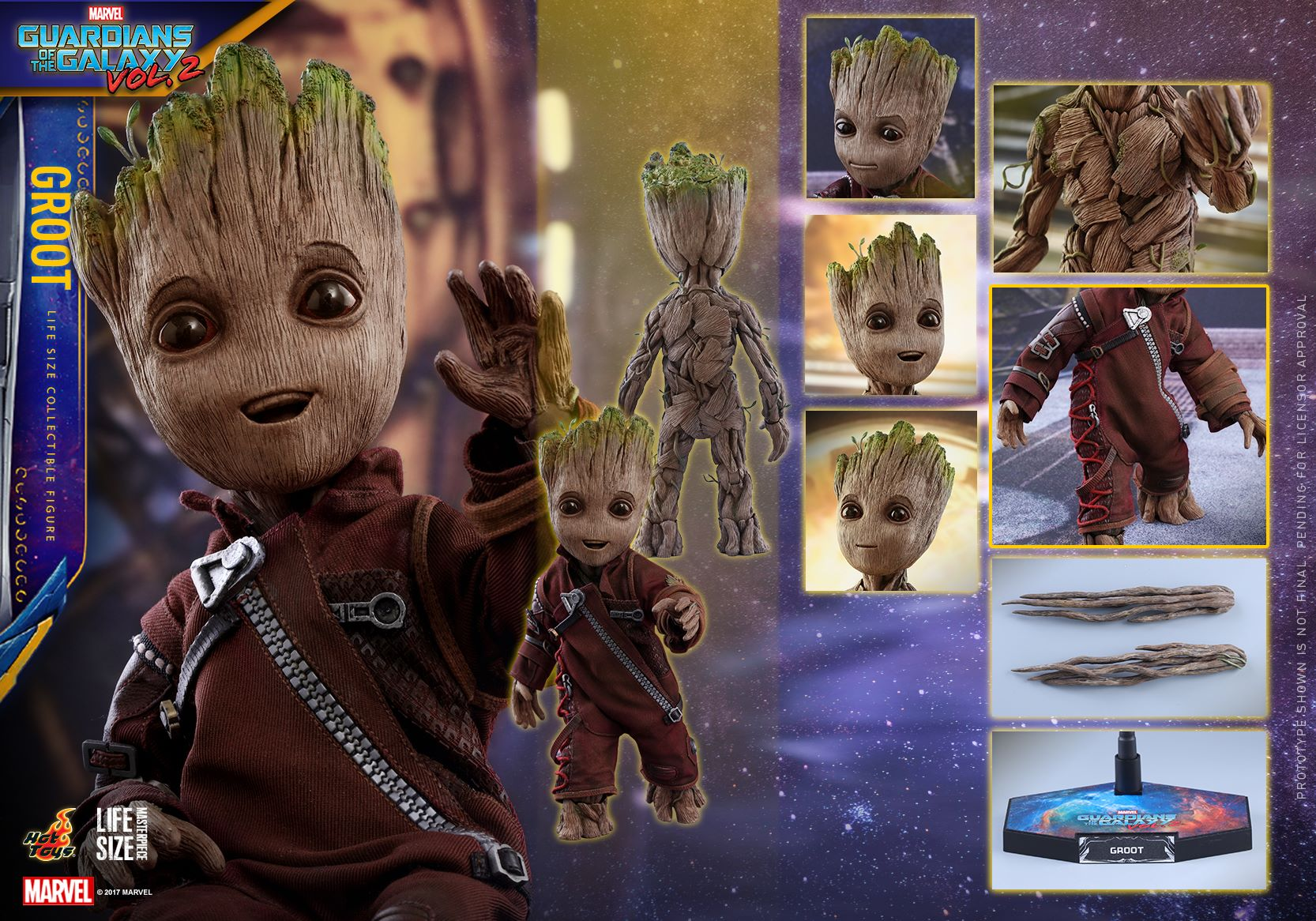 Toys For Life : Guardians of the galaxy vol baby groot life size