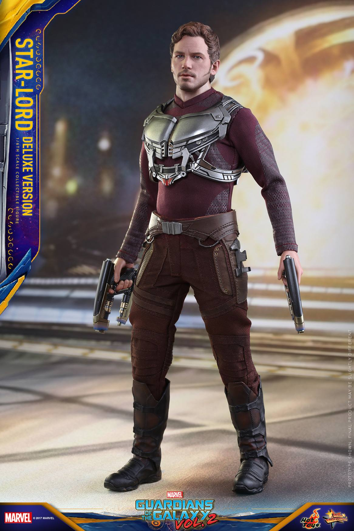 Hot Toys GotG Vol 2 Star Lord Deluxe 003