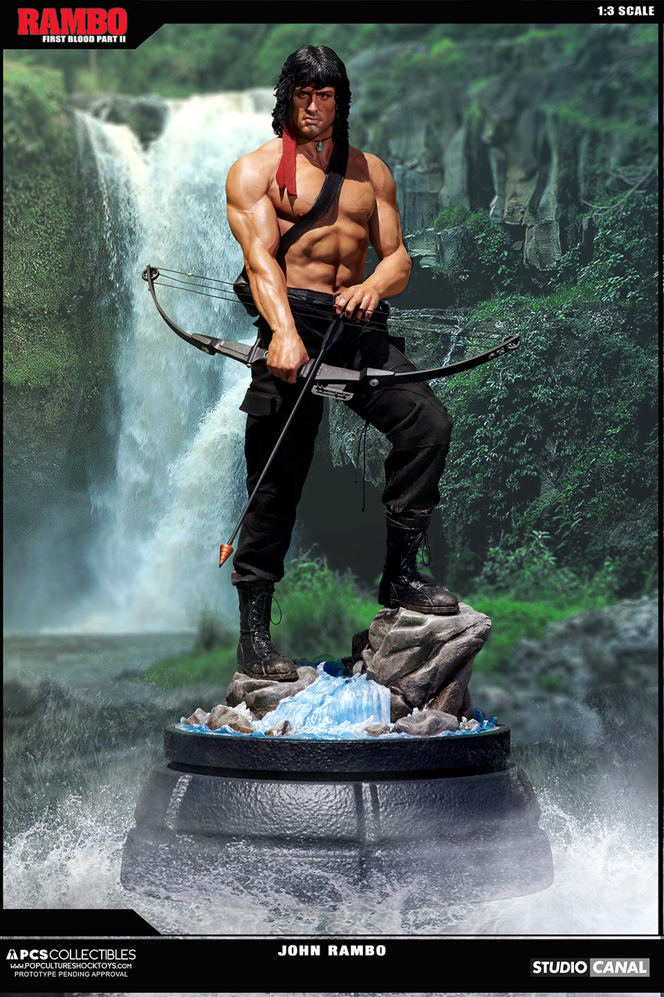 Rambo 1 Elicottero : New photos and pre order details for the pcs toys rambo