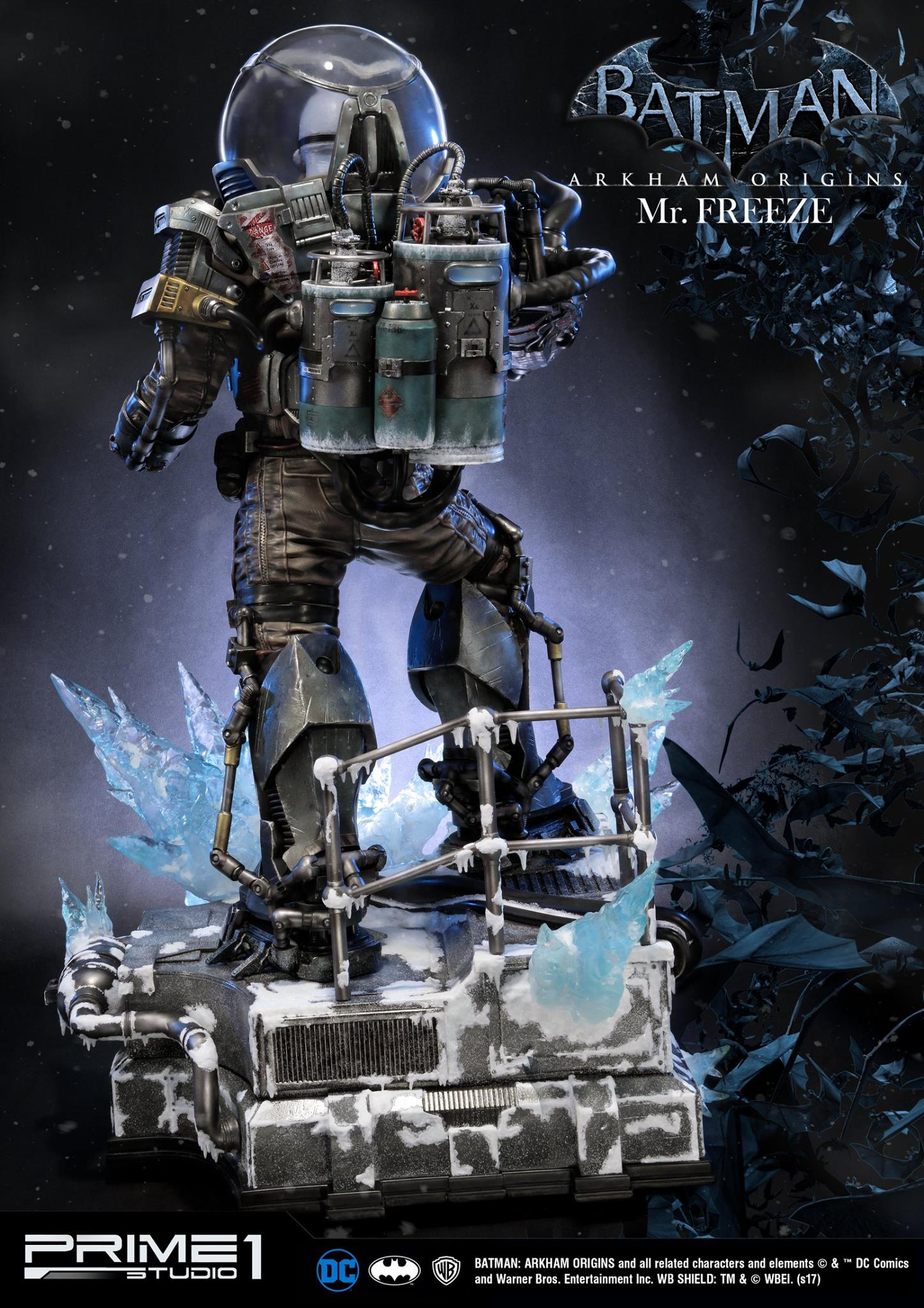 Mr. Freeze Statue By Prime 1