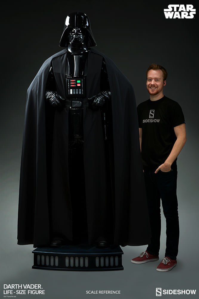 Star Wars Life Size Darth Vader Images And Details The