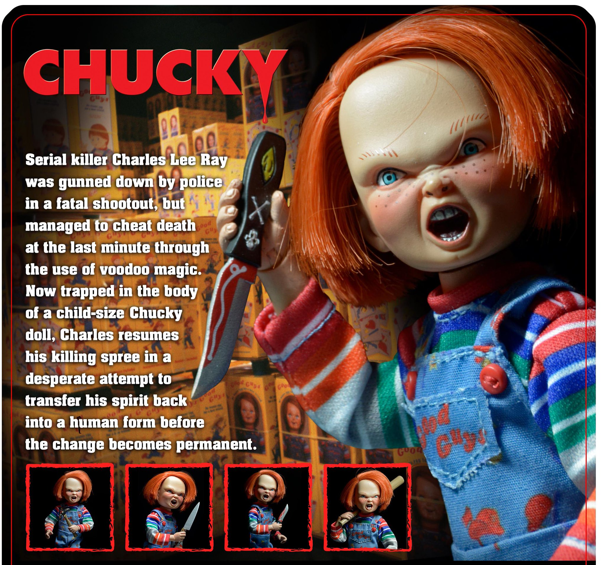 Cardback Preview for the Child's Play Chucky Figure by NECA - The ...
