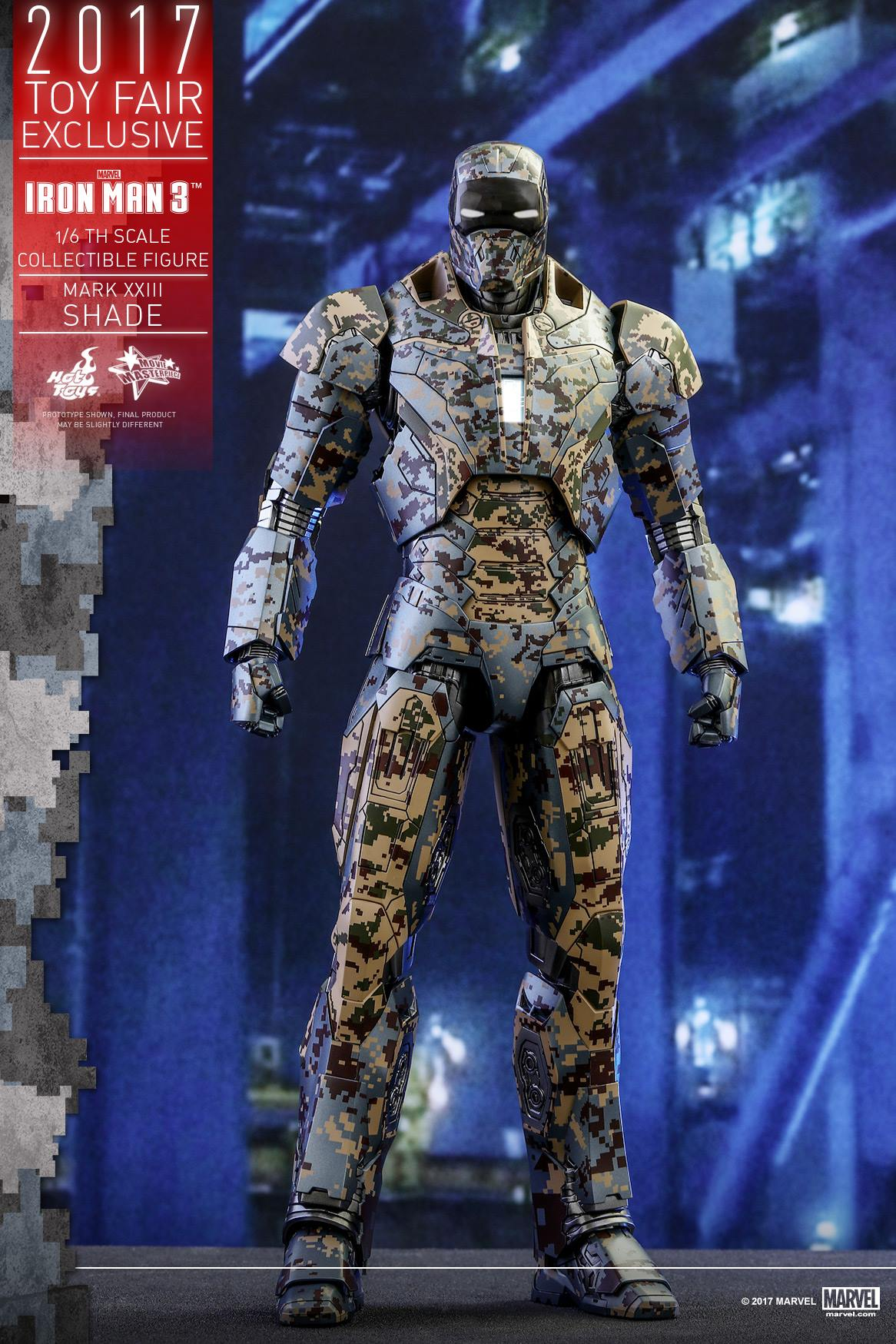 Exclusive Iron Man Shades Armor Figure By Hot Toys