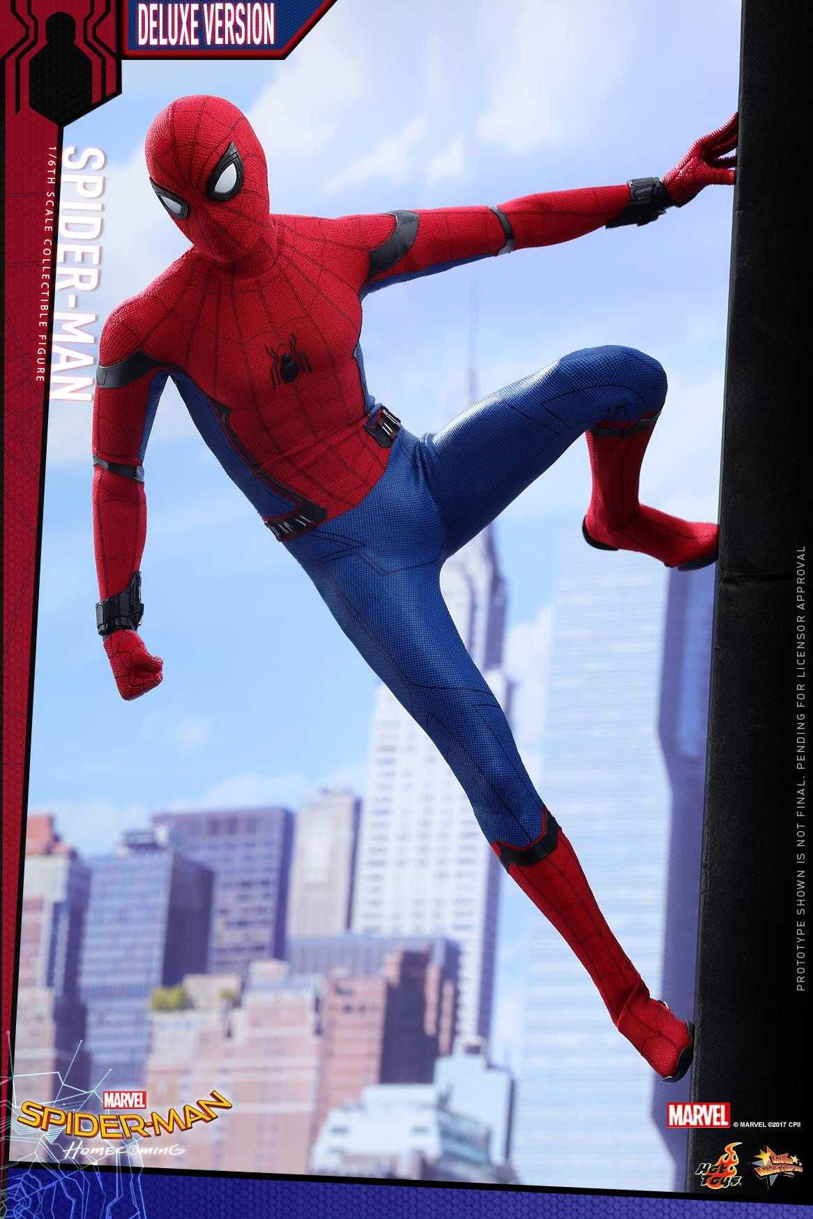 Spider Man Homecoming 1 6 Scale Figure By Hot Toys The