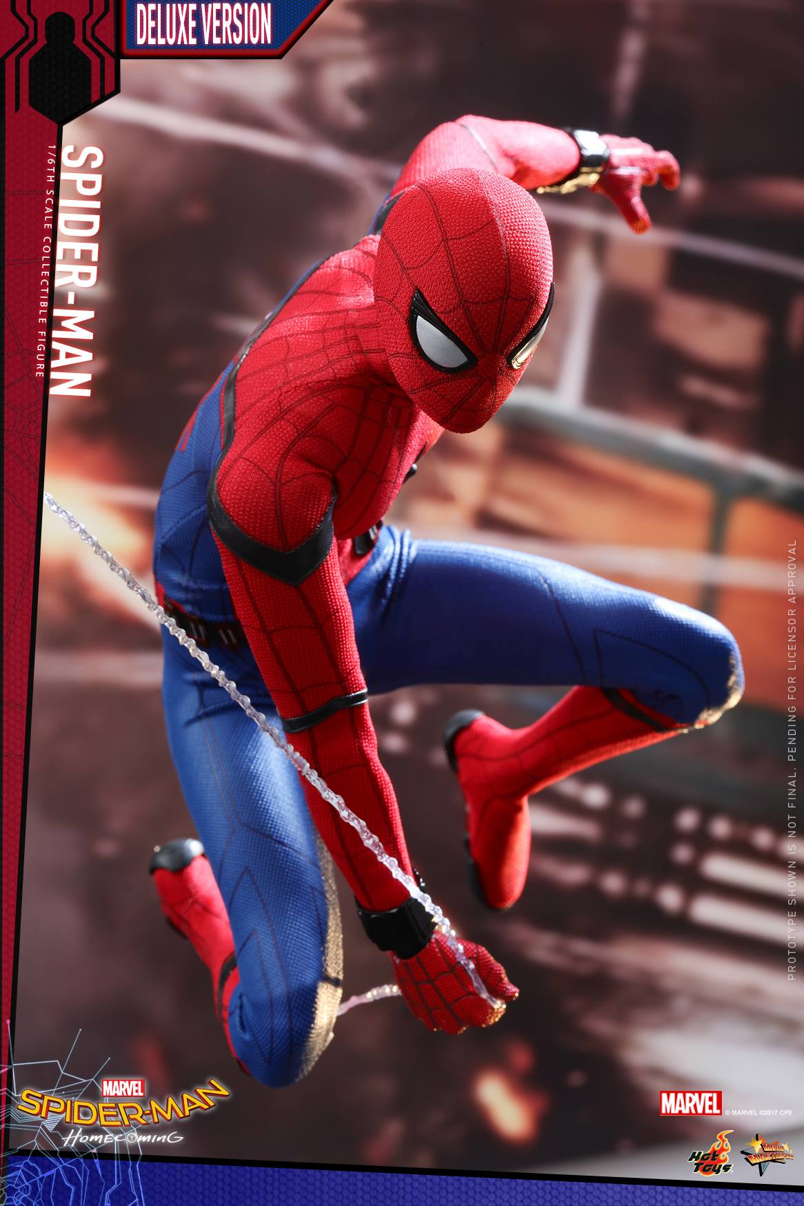 Homecoming Spider Man Toys : Spider man homecoming scale figure by hot toys the