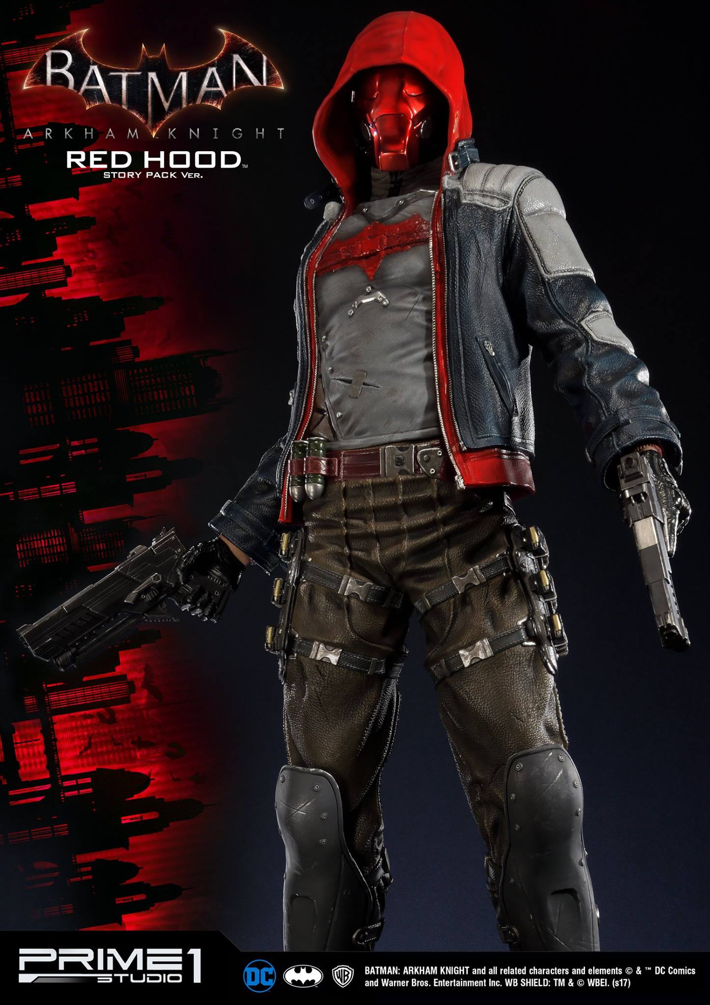 Prime 1 Studio Arkham Knight - Red Hood Statue - The ...