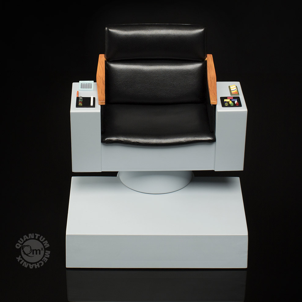 Captains chair star trek - Qmx Star Trek Captains Chair 005