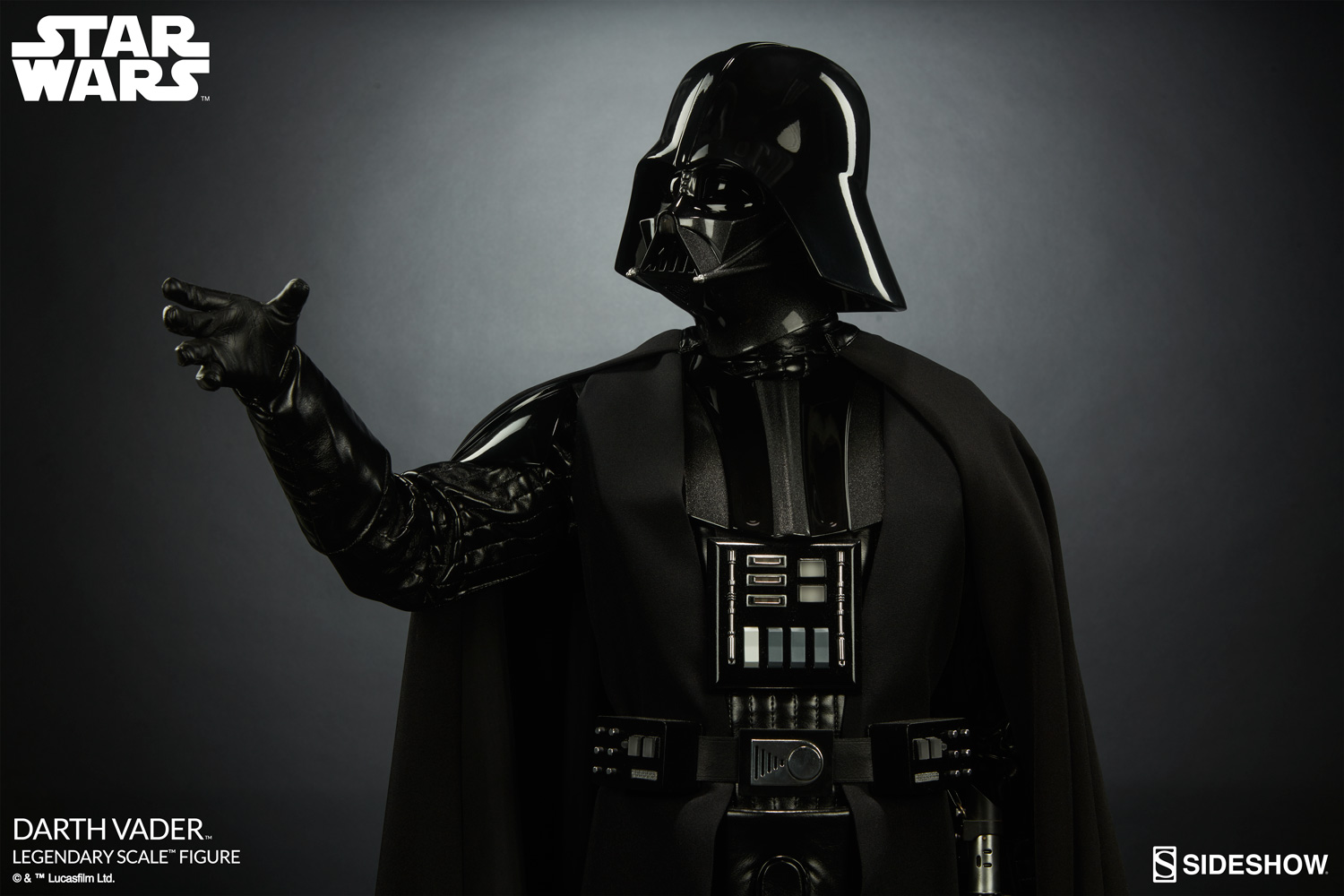 Sideshow Darth Vader Legendary Scale Figure Photos And