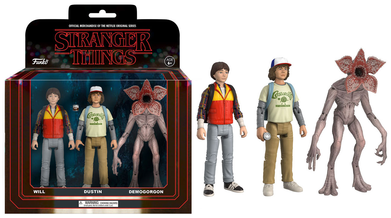 Stranger Things Toys : Funko reveals stranger things inch figures the