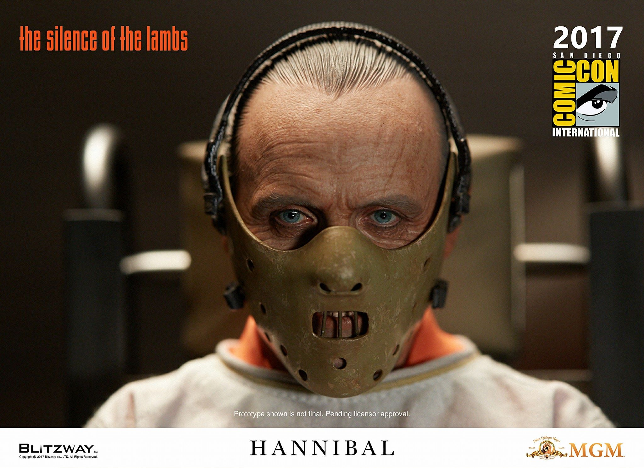 Silence of the Lambs - Dr. Hannibal Lecter Statues by