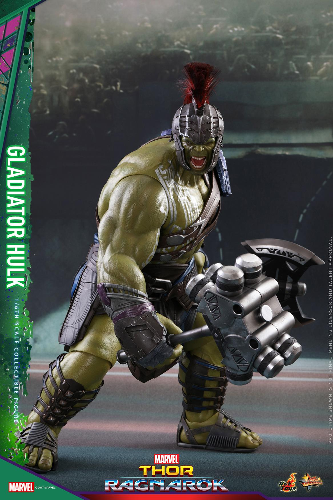 Hot Toys Hulk And Thor 1 6 Scale Figures From Thor