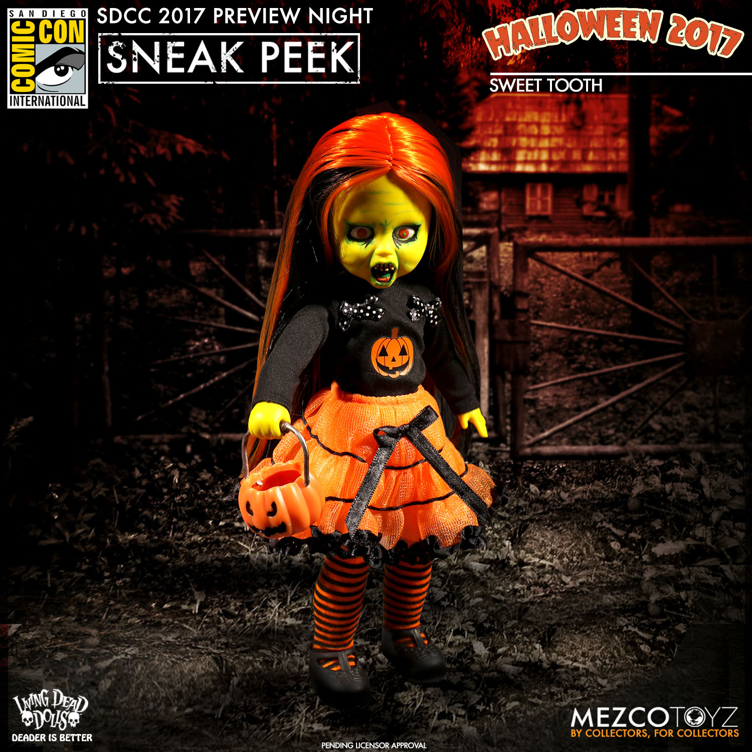 Mezco Previews New One:12 Collective and More for SDCC 2017 - The ...