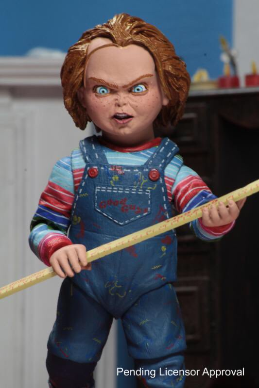New Preview Of Ultimate Child S Play Chucky Figure By Neca