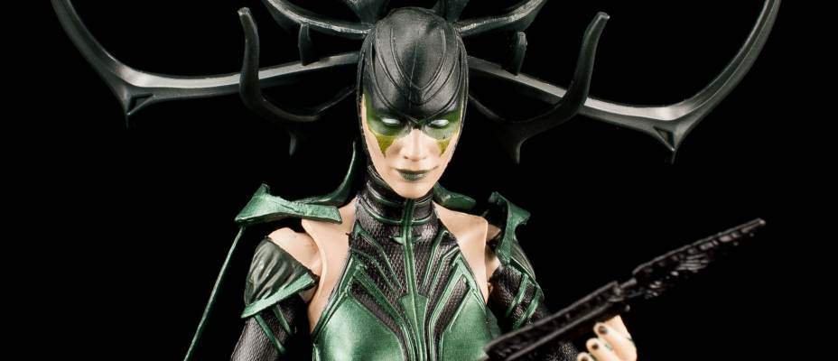 Marvel Legends Hela Thor Ragnarok Photo Shoot