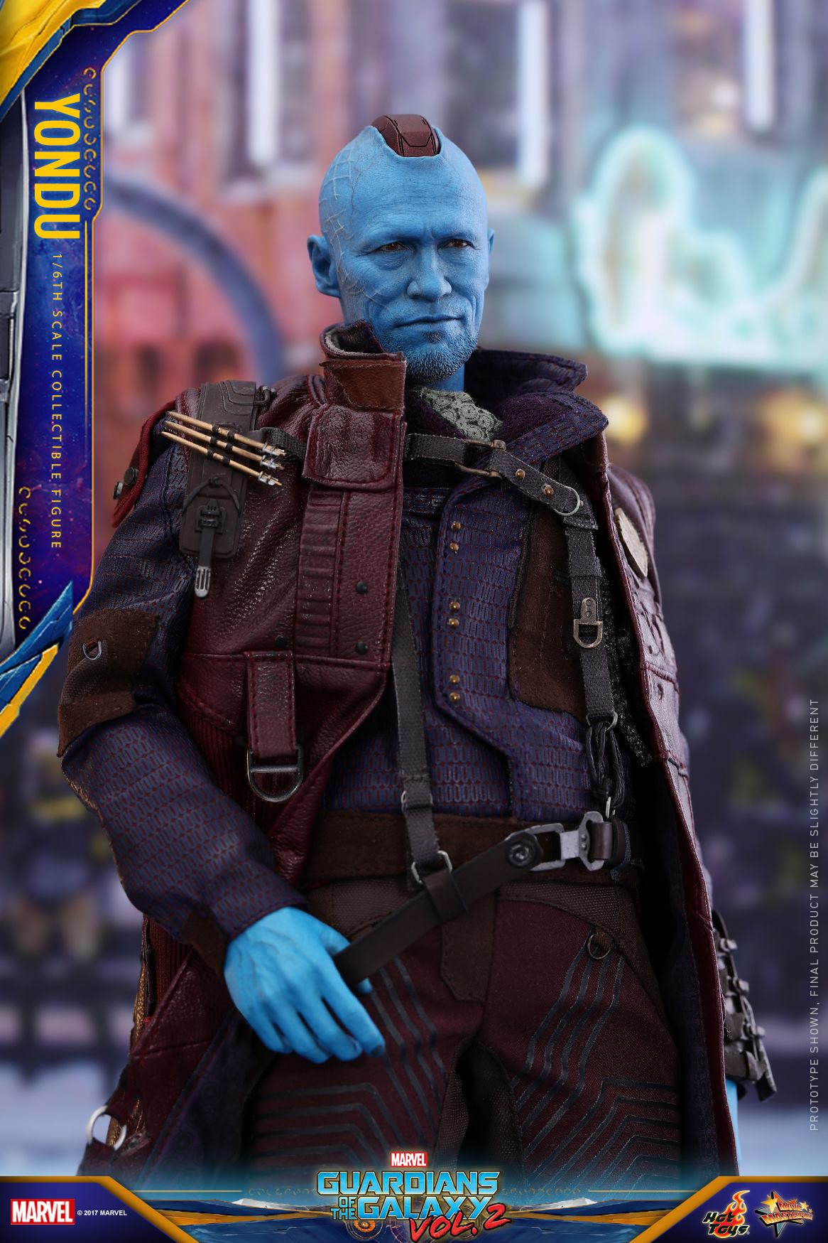 Hot toys guardians of the galaxy vol 2 yondu figures for Galaxy toys