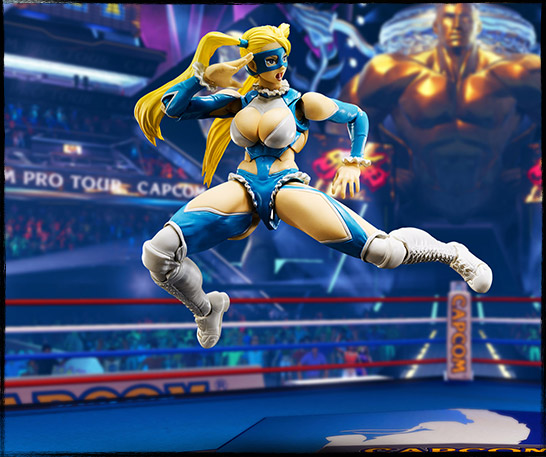 Image result for STREET FIGHTER V-RAINBOW MIKA S.H. FIGUARTS