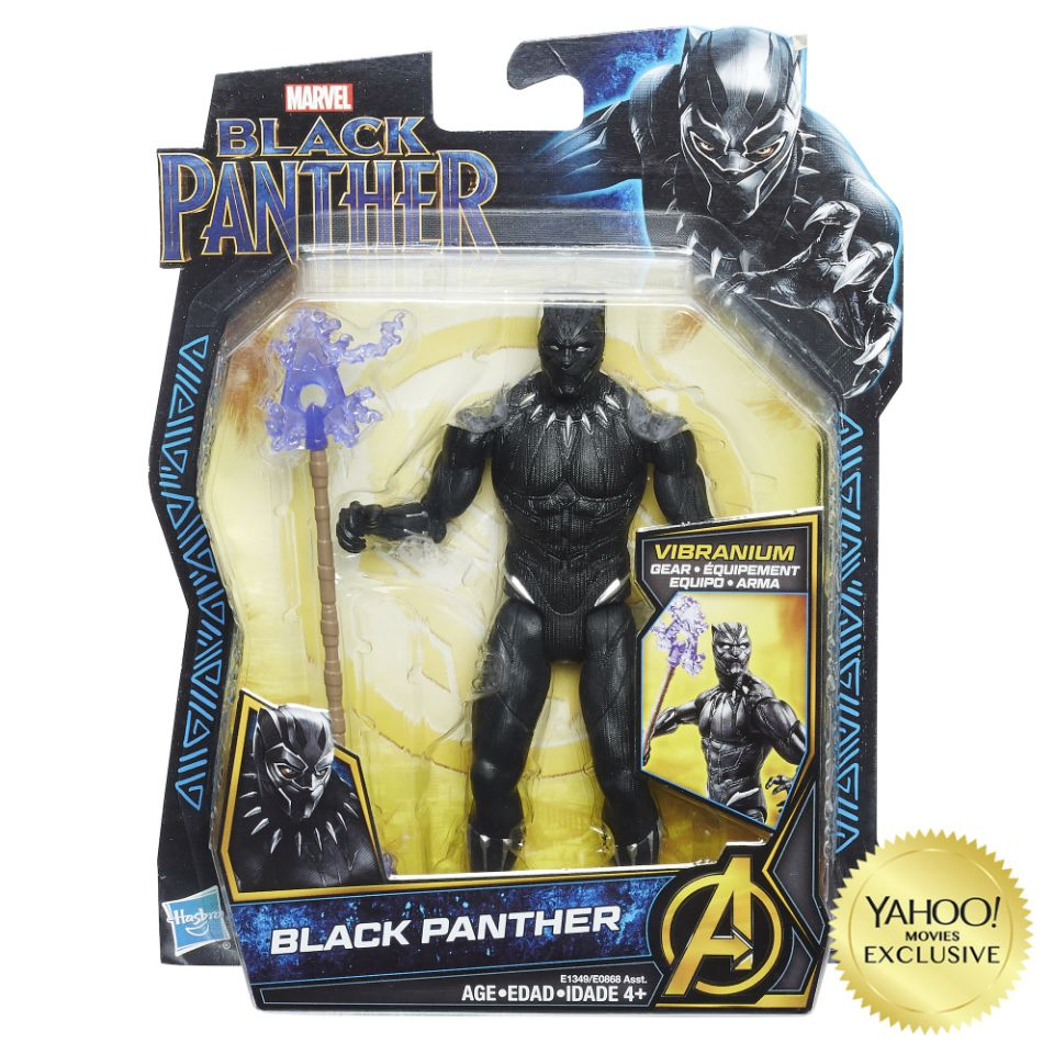 Black Panther Movie Figures By Hasbro Toy Discussion At