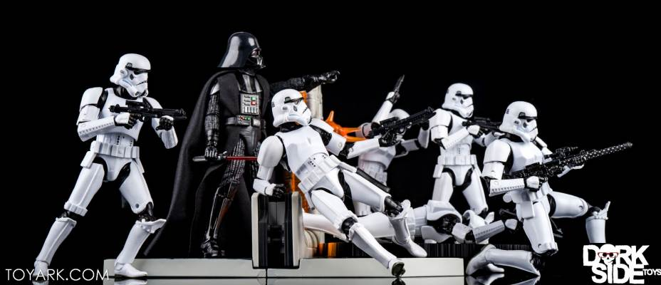 Darth Vader Tantive IV Star Wars Black Series Centerpiece Photo Review