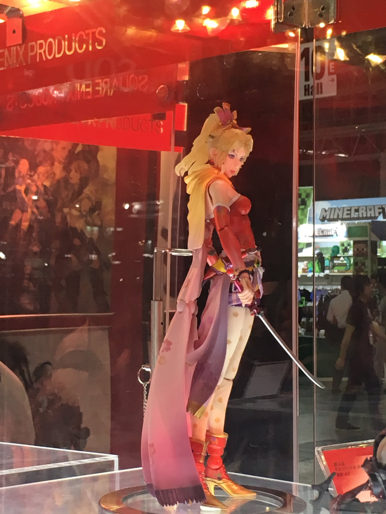 TGS2017 Final Fantasy Play Arts Kai Tina 005