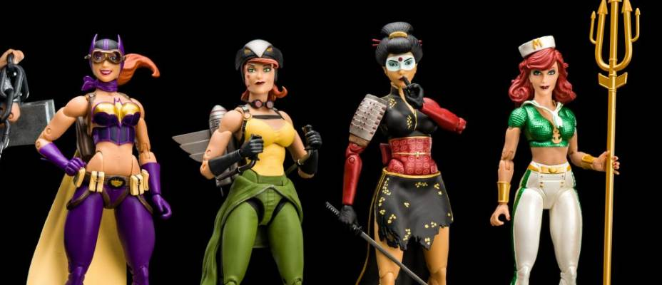 DC Collectibles Bombshells Designer Series Wave 2 In-Hand Photo Review