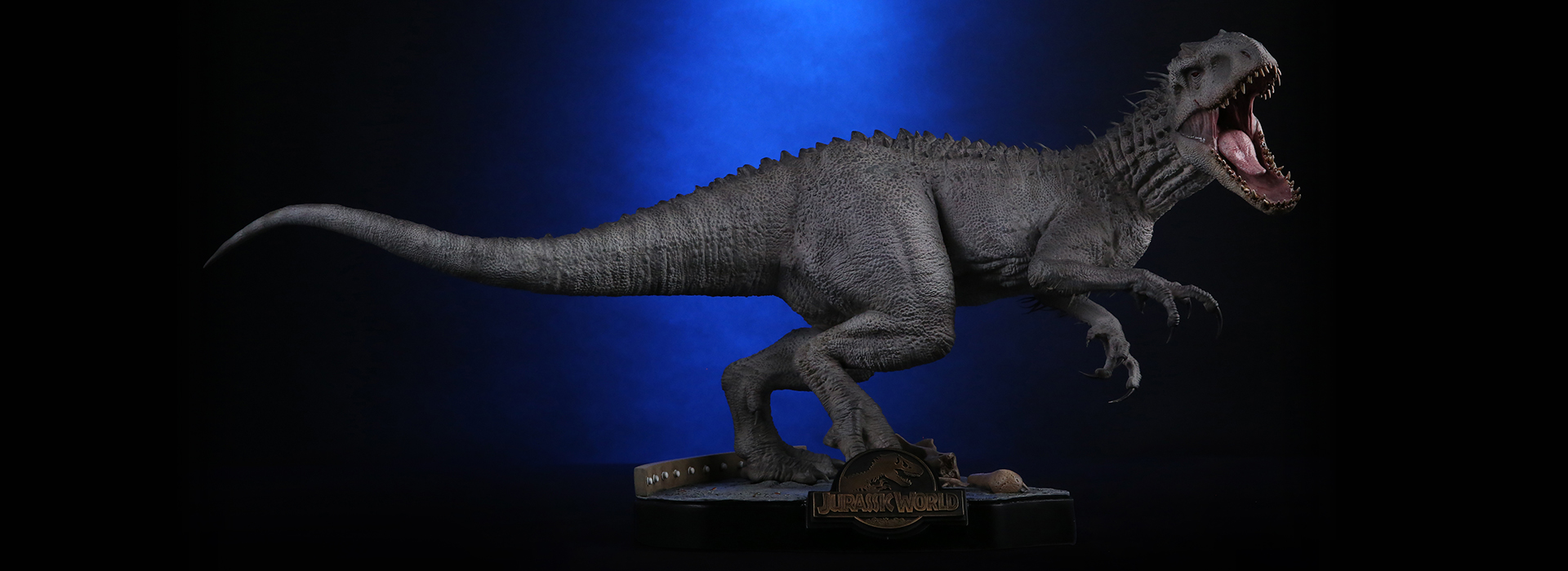 jurassic world indominous rex statue toy discussion at. Black Bedroom Furniture Sets. Home Design Ideas