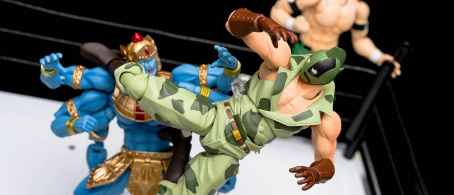 S.H. Figuarts Kinnikuman - Random Photo Shoot
