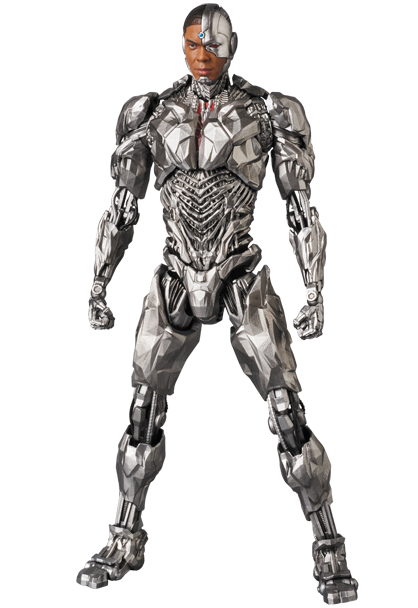 Cyborg and Tactical Suit Batman Join MAFEX Justice League Line Up