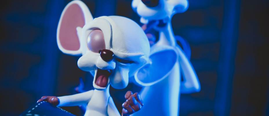 QMX Pinky and the Brain Q-Fig Photo Review